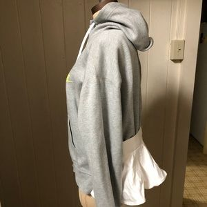 NIKE x SACAI sz M Zip Up Tech Fleece Hoodie Jacket